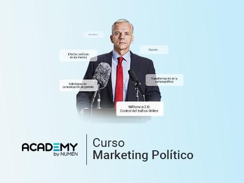 Curso de Marketing Político (Título Oficial) 80%OFF en un pago