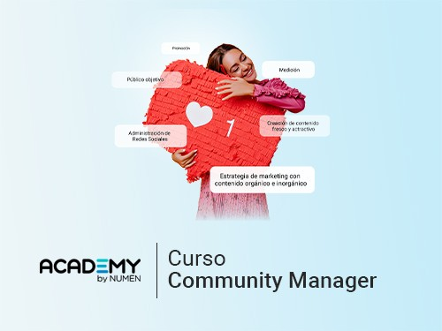 Curso de Community Manager 75%OFF y 6 cuotas sin interés