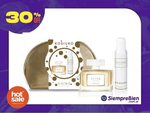 Kosiuko Shine  Edp x100 Ml Neceser + Desodorante X127Ml