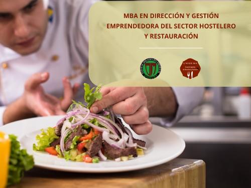 MBA en Dirección y Gestión Emprendedora del Sector Hostelero!