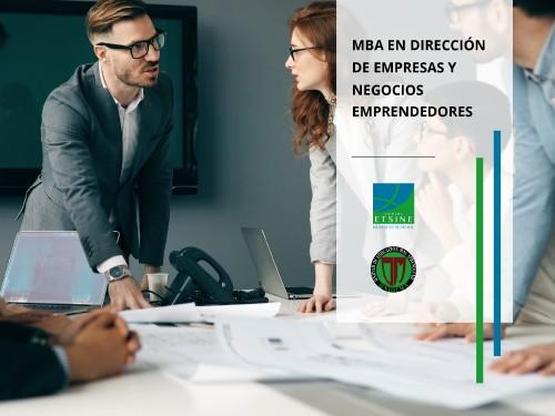 MBA en Dirección de Empresas y Negocios Emprendedores