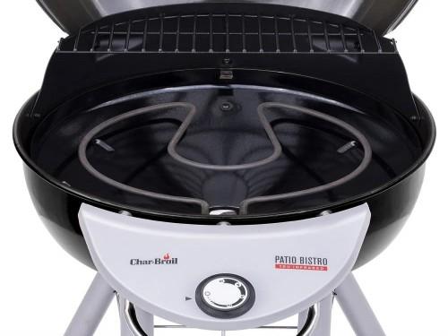 Parrilla Eléctrica Patio Bistro 240 - 2200 W Negro / Plata - CharBroil