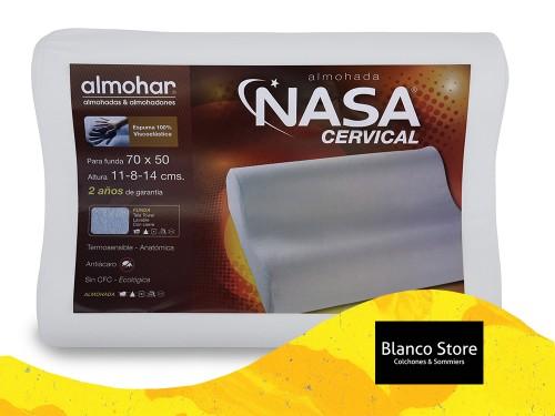 Almohada Almohar Cervical Nasa Espuma Inteligente Viscoelastica