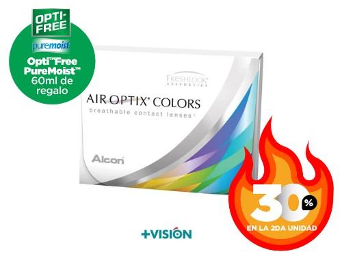 Lentes de contacto Air Optix Colors Neutros | segunda unidad 30% off