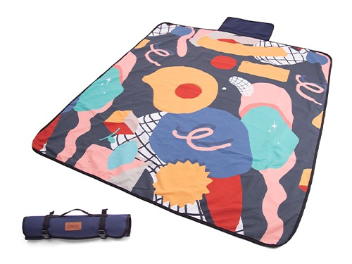 Lona Chilly Picnic Playera Impermeable 1,40 x 1,60 diseño Aquiles