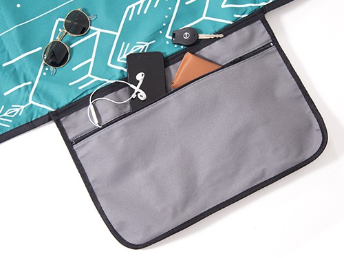 Lona Chilly Picnic Playera Impermeable 1,40 x 1,60 diseño Indie