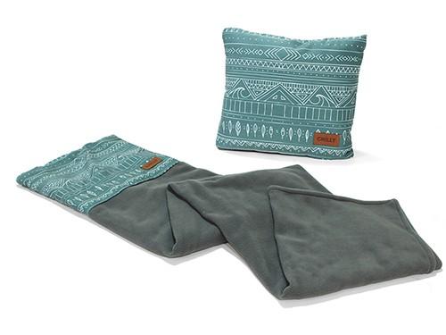 Manta de Polar Almohadón Chilly Diseño Indie