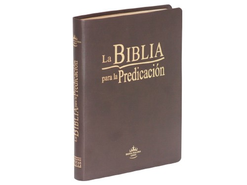 Biblia Para La Predicación, Letra Grande, Reina Valera 1960