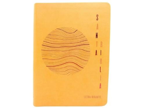 Biblia Reina Valera 1960 Letra Gigante Naranja