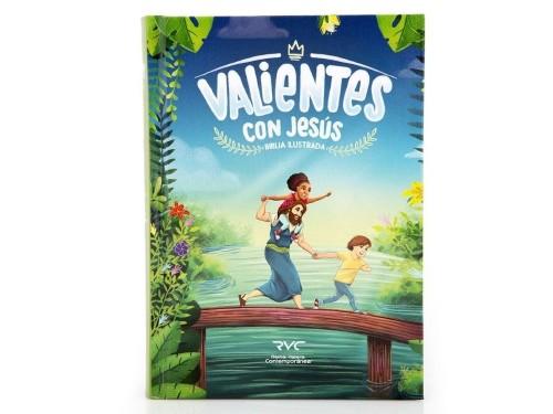 Biblia Para Niños Valientes Jesús Reina Valera Contemporánea