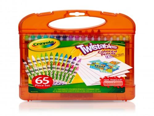 Kit Arte Crayola Lápices Twistables Tienda Oficial X 65 Piezas