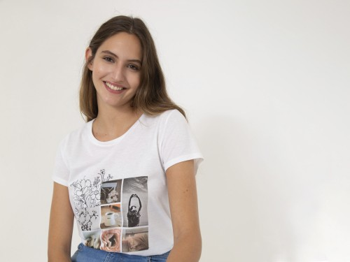 Remera de Mujer Estampada Amelia Yagmour