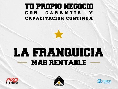 64% OFF en Franquicia TRAINNING, emprende con nuestro Gimnasio Virtual