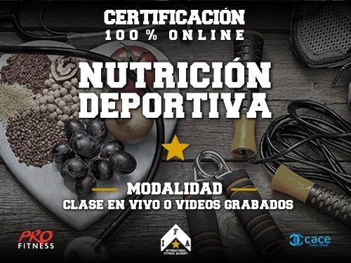 86% OFF y 2x1 en Cursos de Nutrición Deportiva y Armado de Dieta