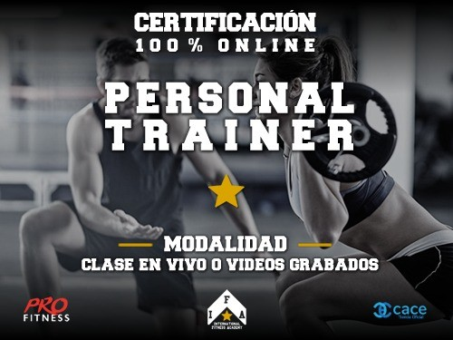 86% OFF y 4x2 en Cursos OnLine de Personal Trainer Level 1, 2, 3 y 4