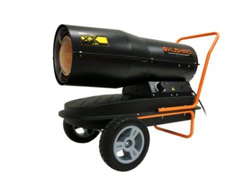 Caloventor a Explosión 26000kcal/h con Manillar y Ruedas Kushiro