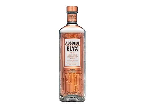 Absolut Elyx Vodka Suecia Botella De 1 Litro