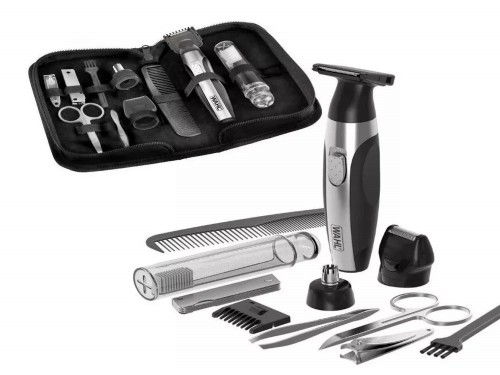 Kit de viaje Travel Kit Nasal y Trimmer Alicates Peine Tijera Wahl