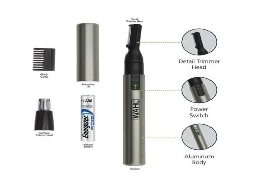 Mini Trimmer Wahl Nasal Micro GroomsMan Lithium