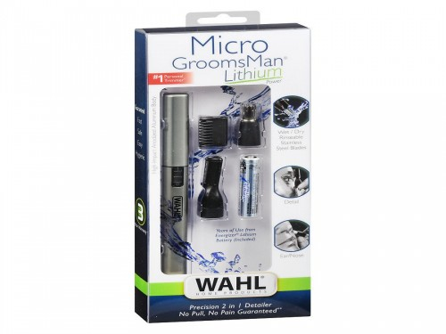 Mini Trimmer Wahl Nasal Micro GroomsMan Lithium