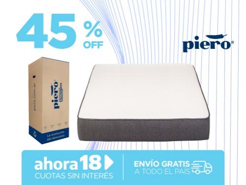 Colchón En Caja Piero ColchónBox 190x140 2 plazas