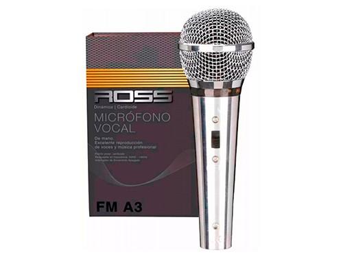 Microfono Vocal Ross Pa Fm-a3