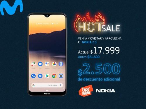 Portabilidad Movistar + Celular Nokia 2.3 - Liberado
