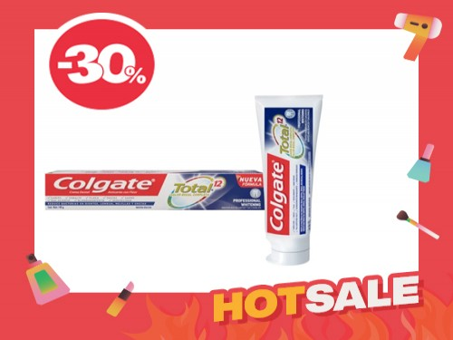 Den Colgate Total 12 Professional Whitening x 140G