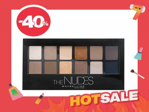 Paleta de Sombras de Ojos The Nudes X 9,6 Gr