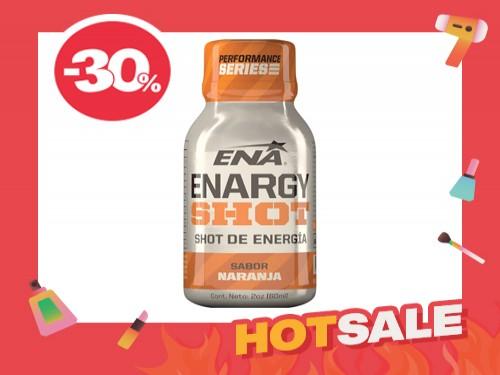 Suplemento Dietario Enargy shot de Naranja x 60 ml