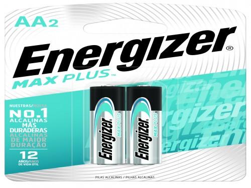 Pilas Energizer Max Plus AA x 2 un