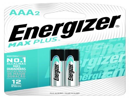 Pilas Energizer Max Plus AAA x 2 un