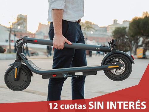 Monopatín Eléctrico Go Smart Modelo X1 Urbano + Casco + Envío