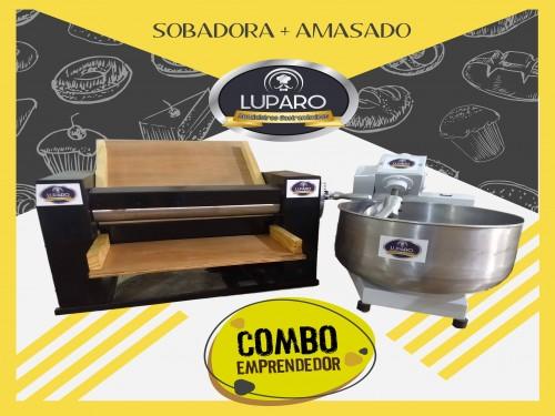 Combo Amasadora 20kg Masa Final + Sobadora 450mm. Panaderia