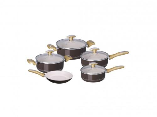Batería de Cocina Tonalite Antiadherente 5 pzas Tramontina