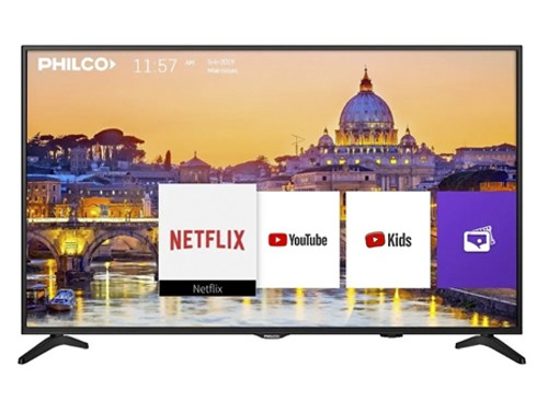"Smart Tv 50"" Ultra HD 4K HDMI USB Netflix Philco"