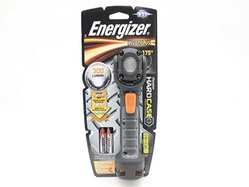 Linterna Led Energizer Inastillable 300 Lumenes Cabezal Giratorio