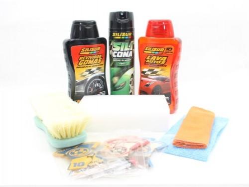 Kit Completo Limpieza para tu Vehículo con Balde incluido