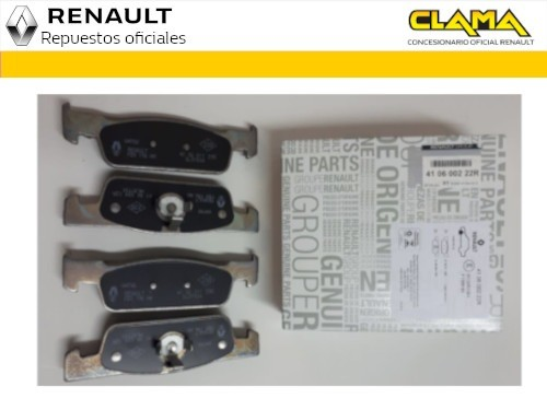 Logan / Sandero 2016 al 2020 Pastillas de Frenos Renault