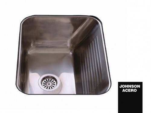 Pileta De cocina / Lavadero Johnson Acero Ln50 Bacha