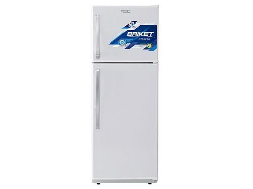 Heladera con Freezer 250 Lts. Blanca Briket