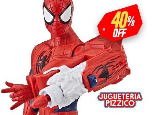 Muñeco Spiderman Titan Hero Power Fx con Envio Full Marvel Hasbro