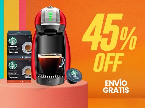 Máquina de café en cápsulas Genio 2 NESCAFÉ Dolce Gusto