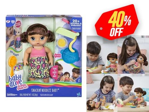 Muñeca Interactiva Rico Espagueti con Envio Full Baby Alive Hasbro