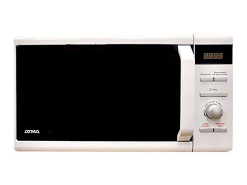Microondas Digital 20 Litros 700w Blanco Atma