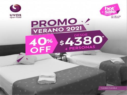 Hotel en Mendoza 4personas VERANO 2021 40% off desde $4380 cambio flex
