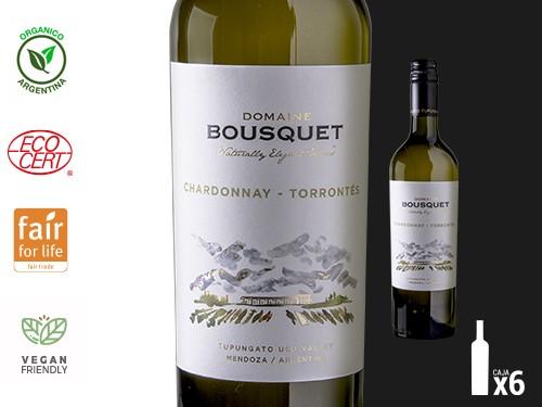 Vino Chardonnay-Torrontés Premium Orgánico 6x750 ml Domaine Bousquet