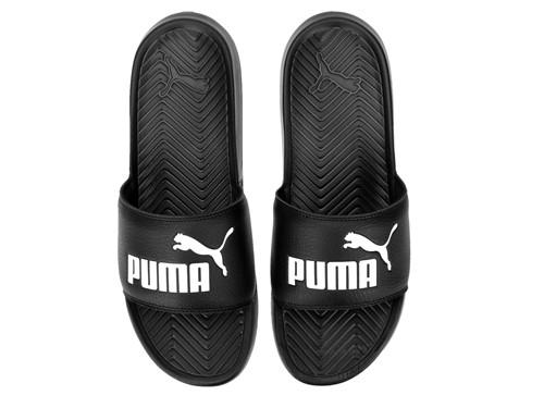 Ojota Puma Popcat Nego y Blanco