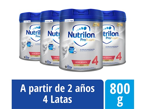 Pack Nutrilon Profutura 4 Lata 800gr