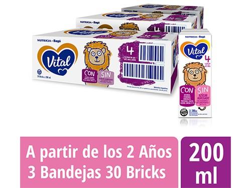 Pack Vital 4 Bricks 200ml